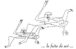 Illustration de la representation de la scSchizoprénie par un malade